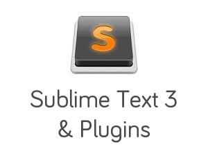 Sublime Text 3 ve Plugins